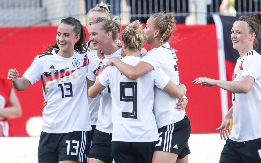 Deutschlands Fußball-Frauen wollen Weltmeister werden.