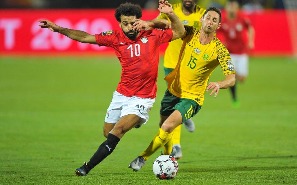 Mit 1:0 setzte sich Südafrika im Achtelfinale gegen Ägypten durch.
