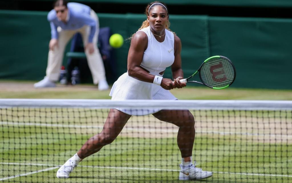 Serena Williams will zum 8. Mal Wimbledon gewinnen.