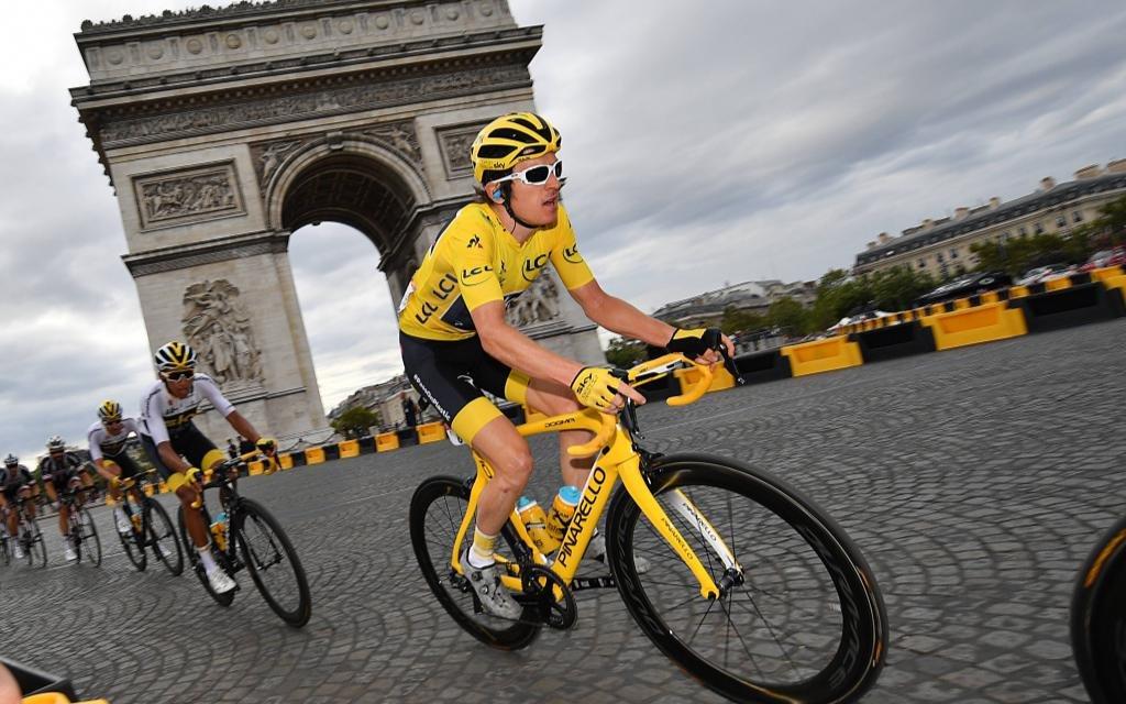 Wieder Gelb? Geraint Thomas, Toursieger 2018