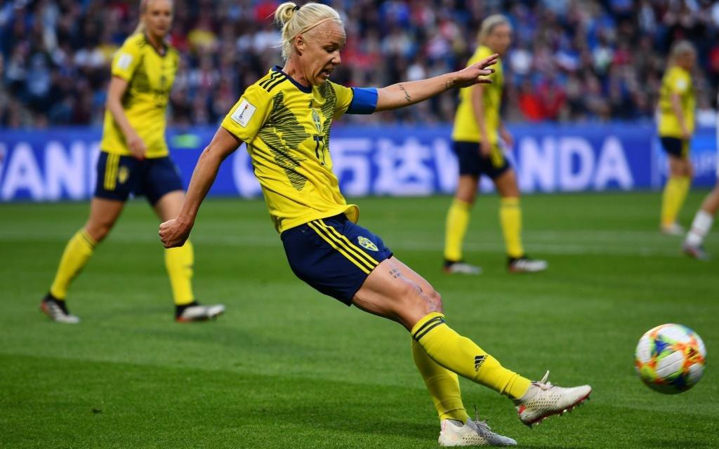 Caroline Seger will mit Schweden ins WM-Finale.