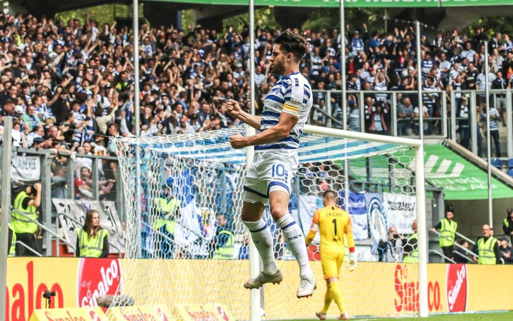 Bereits achtmal traf Stoppelkamp für Duisburg