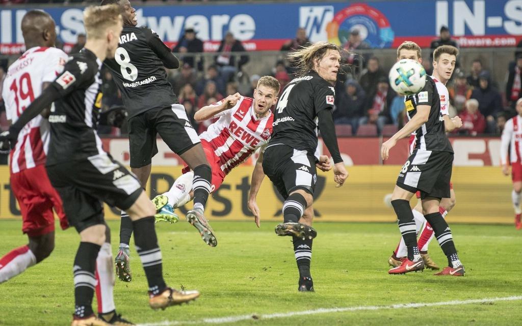 Simon Terodde köpfte Köln zum letzten Derbysieg.