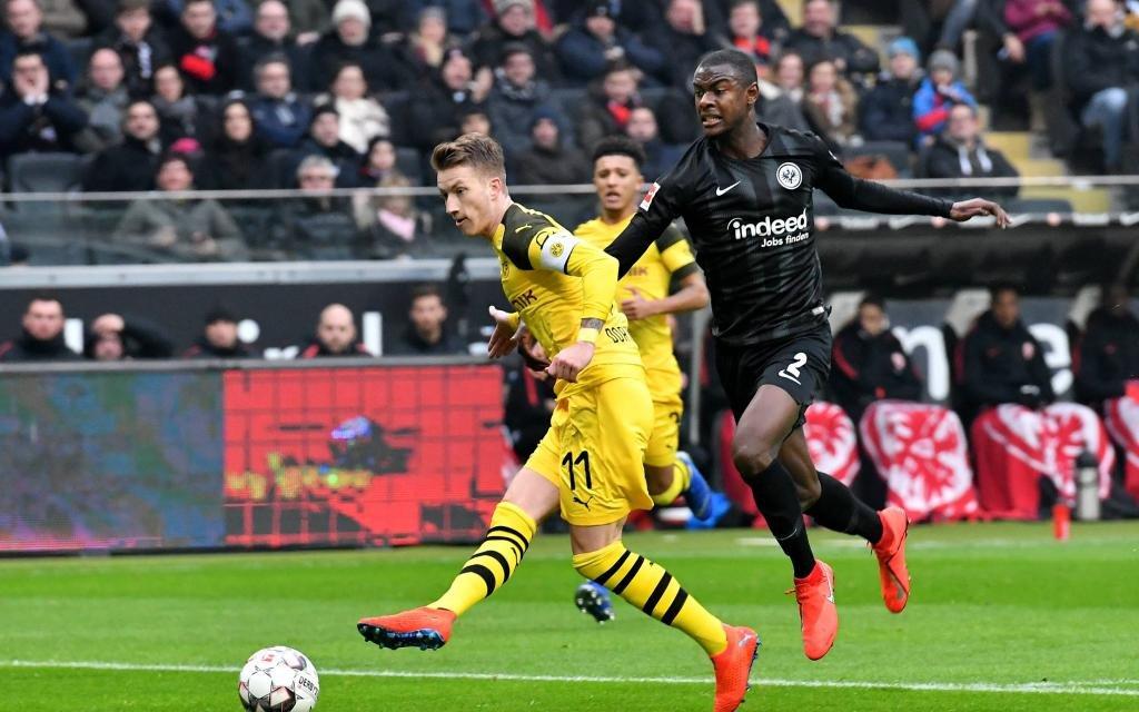 Frankfurt - Dortmund: Stößt die Eintracht den Bock um?