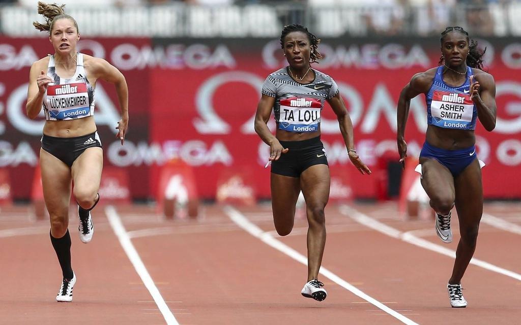 Wer gewinnt die 100m der Frauen?