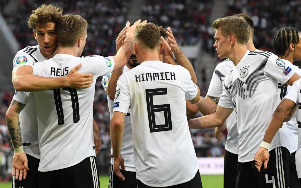 DFB Nationalmannschaft Maenner, Männer, Fussball, EM 2020-Qualifikation, Deutschland vs Estland, 11.06.2019, Mainz, Deutsche jubel
