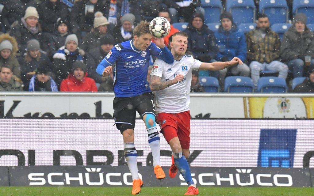 Arminia - HSV: Setzt sich Bielefeld mit Sieg an die Spitze?