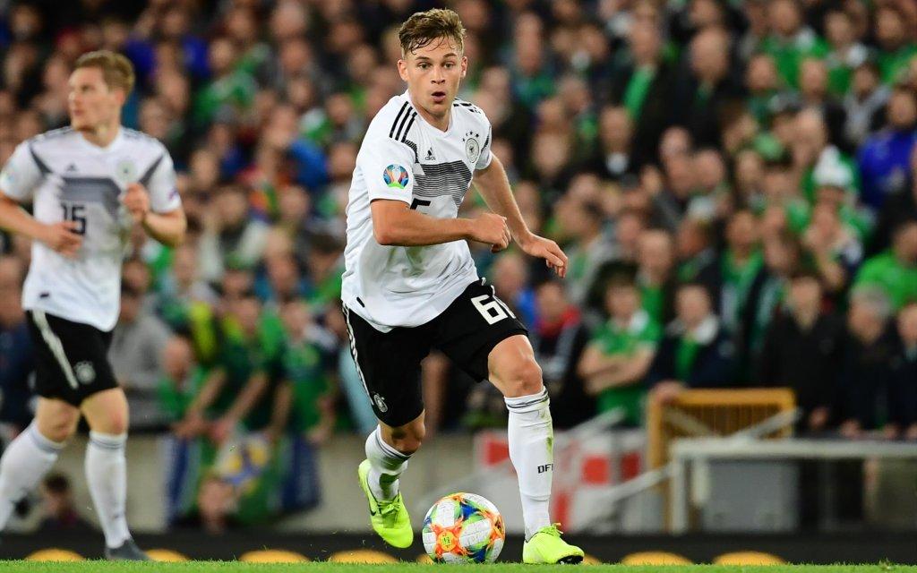 Fußball EM-Qualifikation Nordirland - Deutschland am 09.09.2019 im Windsor Park in Belfast Joshua Kimmich