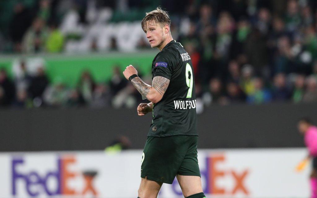 Wout Weghorst VfL Wolfsburg - Gruppenphase Gruppe I Europa League Saison 2019-2020 VfL Wolfsburg vs. FK Olexandriya in der Volkswagen Arena in Wolfsburg