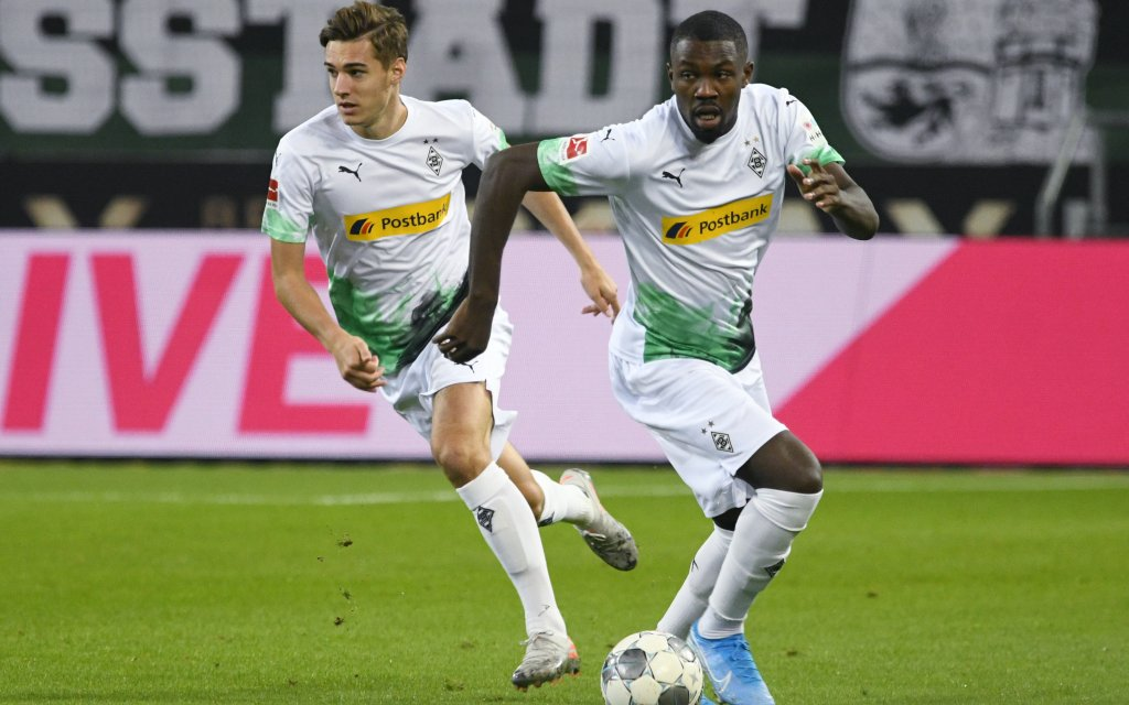 Kappts für die Gladbacher Neuhaus (l.) und Thuram auch gegen Werder?