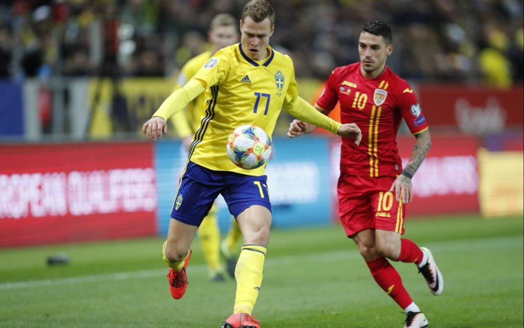 Kann Rumänien mit Nicolae Stanciu die Schweden um Viktor Claesson noch überholen?