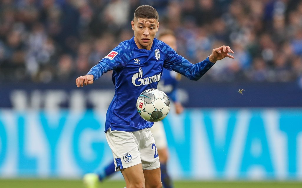 FC Schalke 04 - Fortuna Düsseldorf Amine Harit FC Schalke