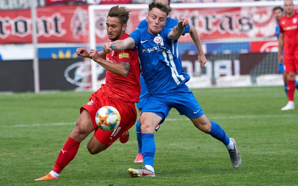 Rostock gegen Halle: Wieder 1:0?