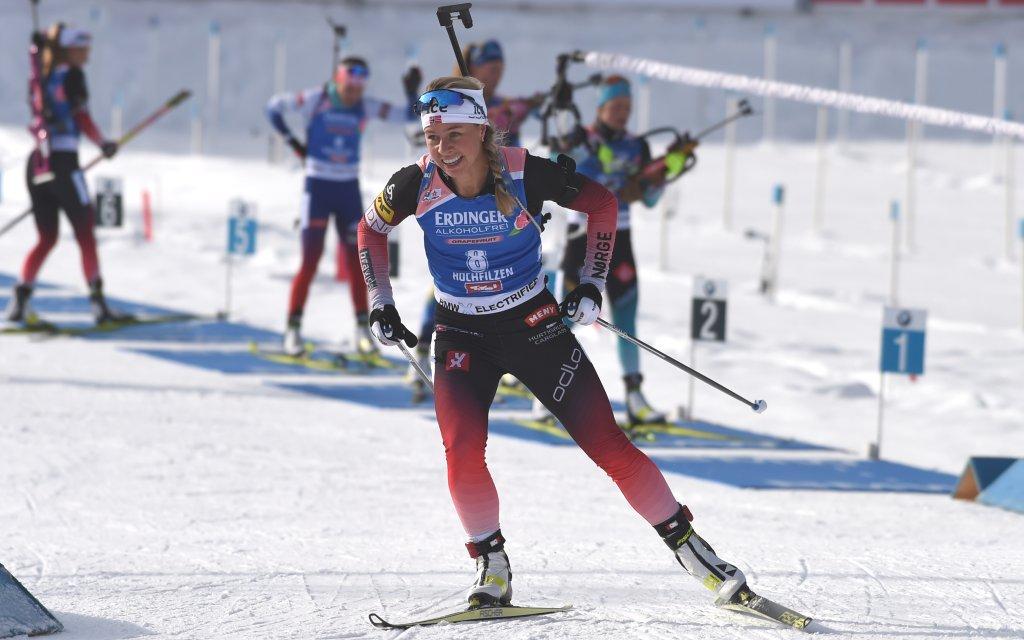 Biathlon in Oberhof: Siegt Eckhoff auch beim Sprint?