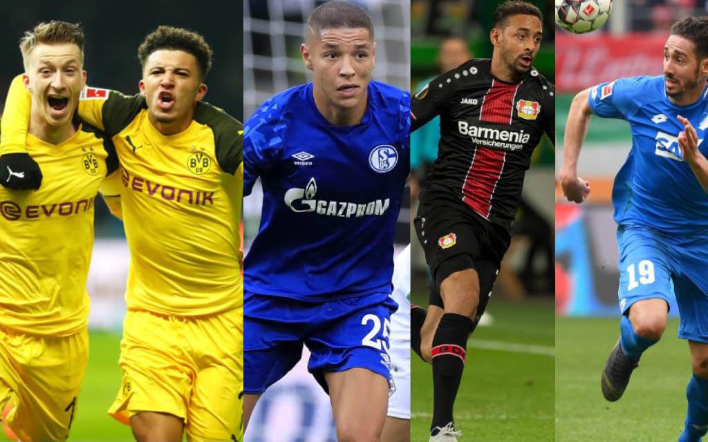 Dortmund, Schalke, Leverkusen oder Hoffenheim: Wer ist nach Spieltag 18 am besten positioniert?