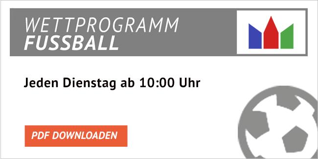 ODDSET Fussball Wettprogramm downloaden