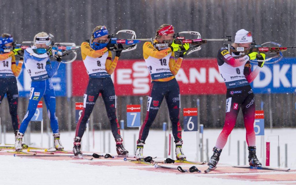 Biathlon-WM in Antholz: 10 Treffer sind Pflicht fürs Treppchen.