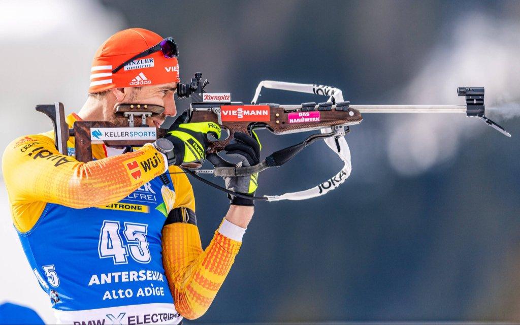 Die Biathlon-WM mit Arnd Peiffer.
