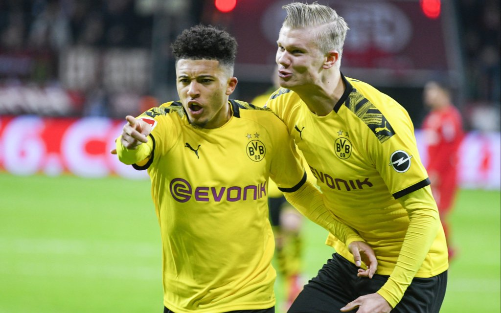 Kann Dortmund mit Sancho (l.) und Haaland auch Paris schlagen?