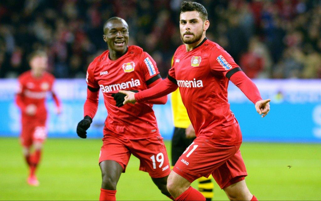 Leverkusen freut sich mit Volland und Diaby auf den FC Porto.