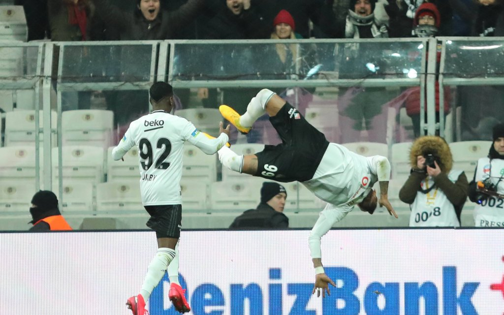Hoffnungsträger bei Besiktas - Trabzonspor für den Gastgeber: Kevin-Prince Boateng