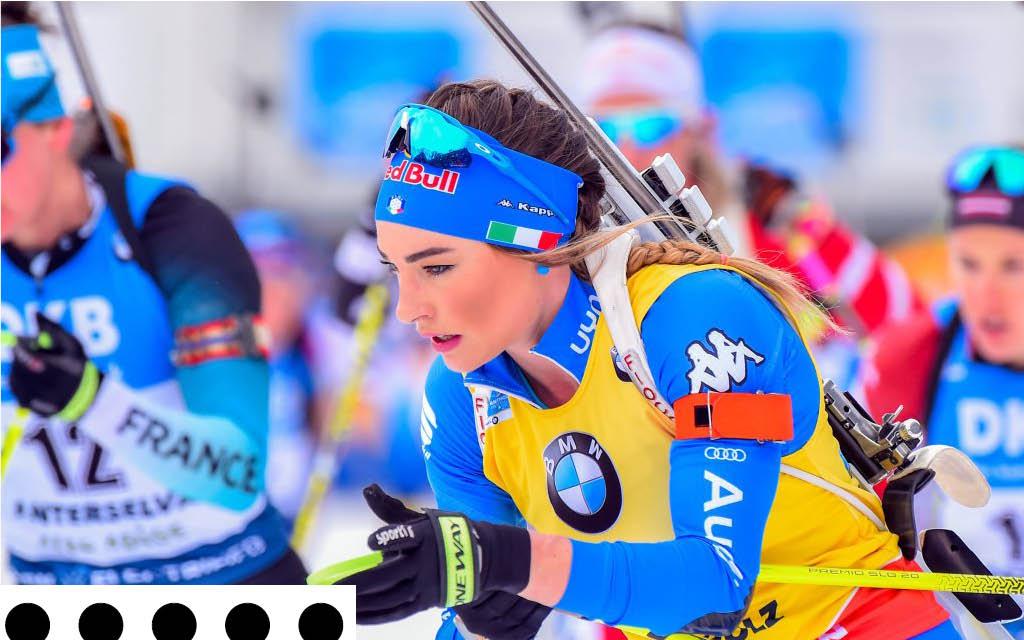 Dorothea Wierer will in Nove Mesto ihre Weltcupführung verteidigen.