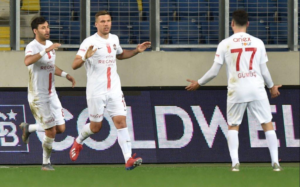 Antalya - Sivas. Wird Podolski (M.) Sivasspor aufhalten?