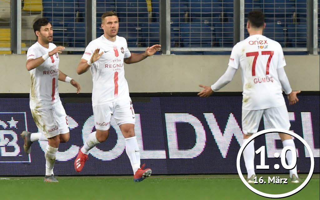 Antalya - Sivas: Wird Podolski (M.) Sivasspor aufhalten?