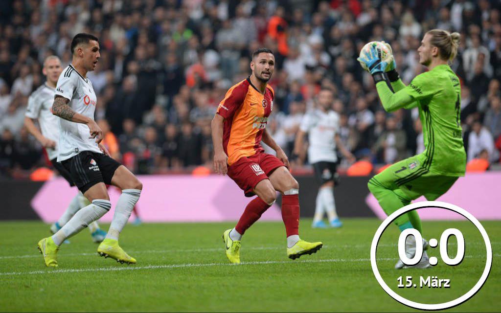 Galatasaray - Besiktas: Das Derby findet ohne Fans statt.
