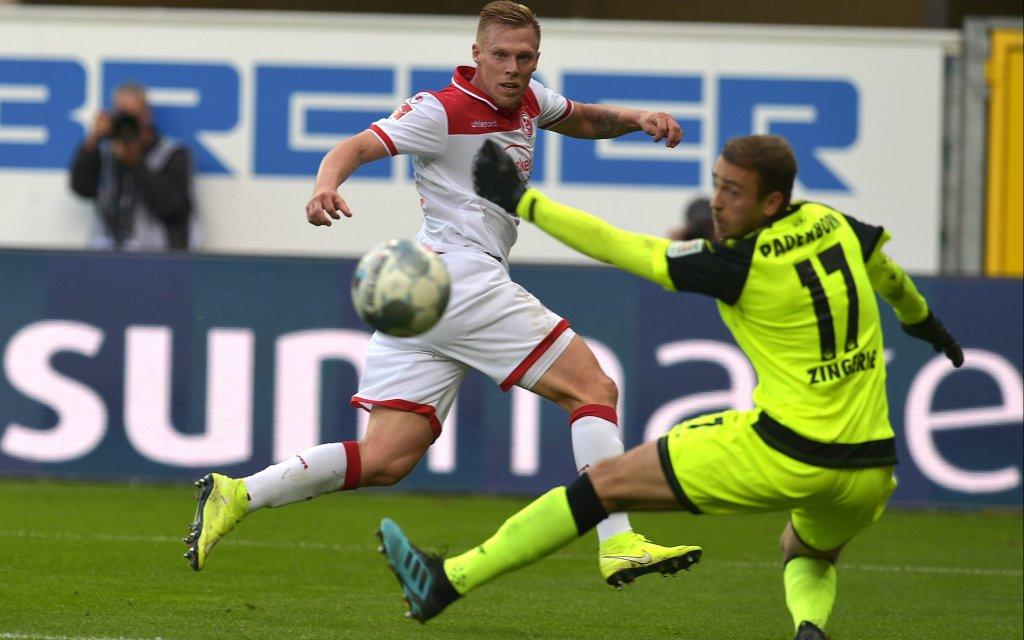 In der Hinrunde schlug Paderborn die Fortuna 2:0.