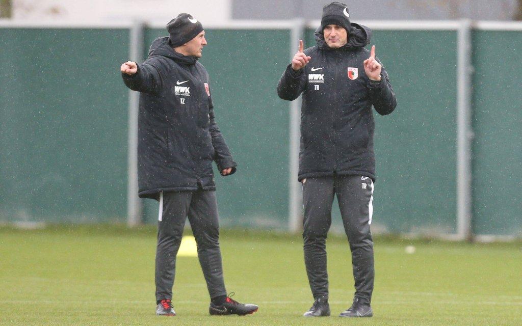 Bei Augsburg - Wolfsburg steigt das Debüt von Heiko Herrlich