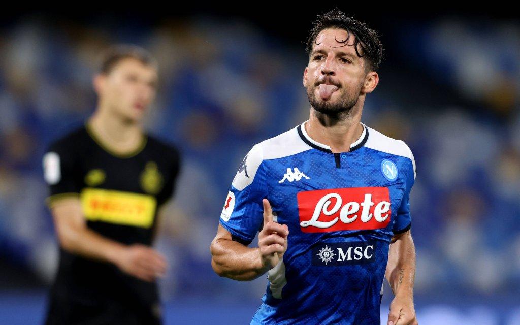 Neapels Mertens will auch im Finale gegen Juve jubeln.