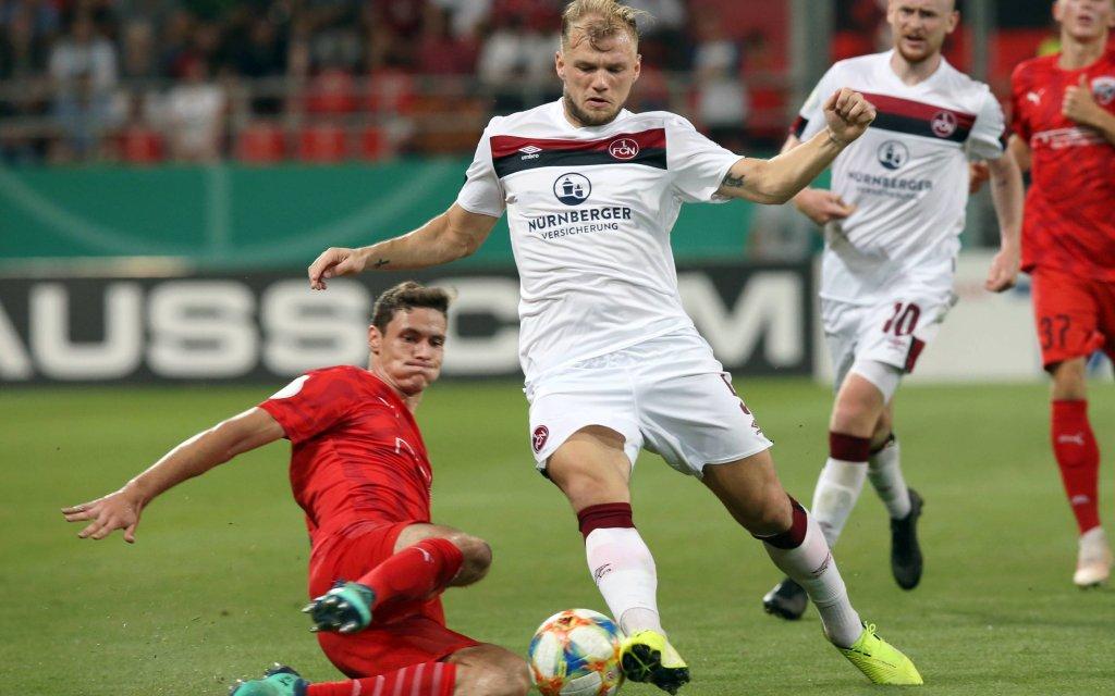 Ingolstadt verlor im Pokal mit 0:1 in Nürnberg.