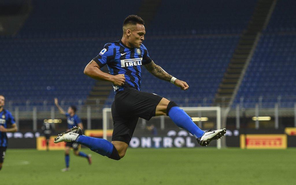 Inter mit Lautaro Martinez