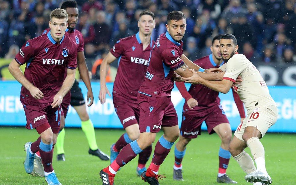 Beim Hinspiel trennten sich Trabzonspor und Galatasaray mit 1:1