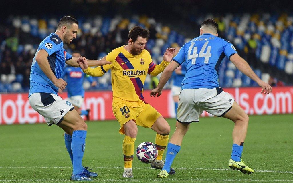 Barca - Neapel: Wer schafft den Sprung ins Viertelfinale?