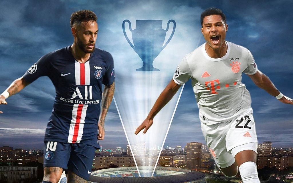Neymar, Serge Gnabry, Champions League, Finale