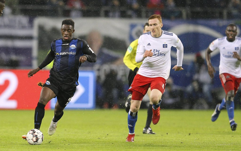 Paderborn gegen HSV schon unter Druck