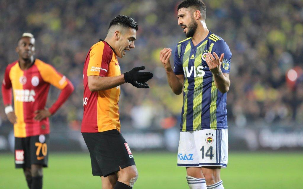 Alles Süper: Falcao (l.) und Tolga Cigerci werden auch diesmal wieder diskutieren