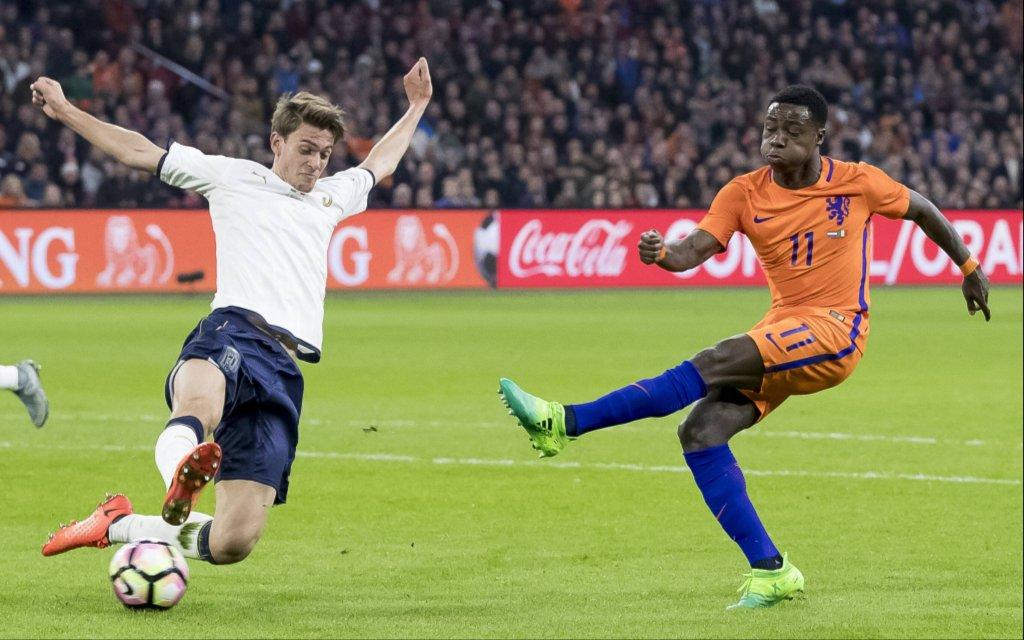 Italien ist bei den Niederlanden schon unter Druck