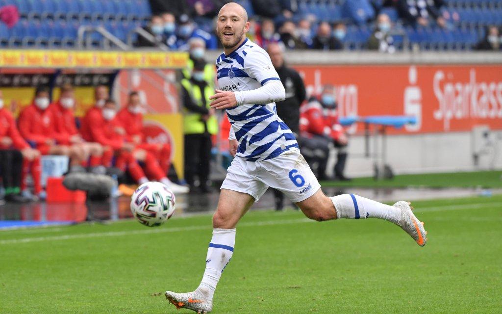Connor Krempicki MSV Duisburg 26.09.2020, Fussball GER, Saison 2020 2021, 3. Liga, 2. Spieltag, MSV Duisburg - FSV Zwickau 1:1