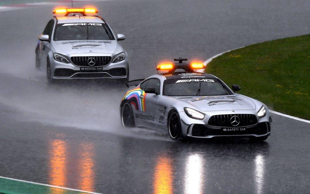 Gibt es ähnlich nasse Bedingungen auch beim Grand Prix auf dem Nürburgring?