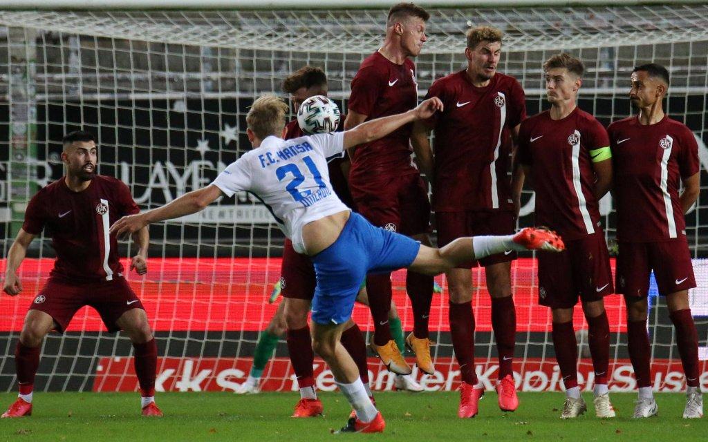 Am letzten Spieltag gab es keine Tore zwischen Lautern und Rostock.