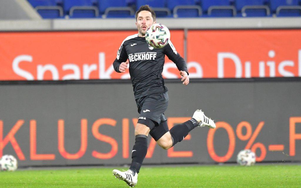 20.10.2020, GER, Fussball, 3.Liga, Saison 2020/2021, 11. Spieltag, Schauinsland-Reisen-Arena, Duisburg MSV Duisburg - SC Verl 0 : 4 Matthias Haeder SC Verl