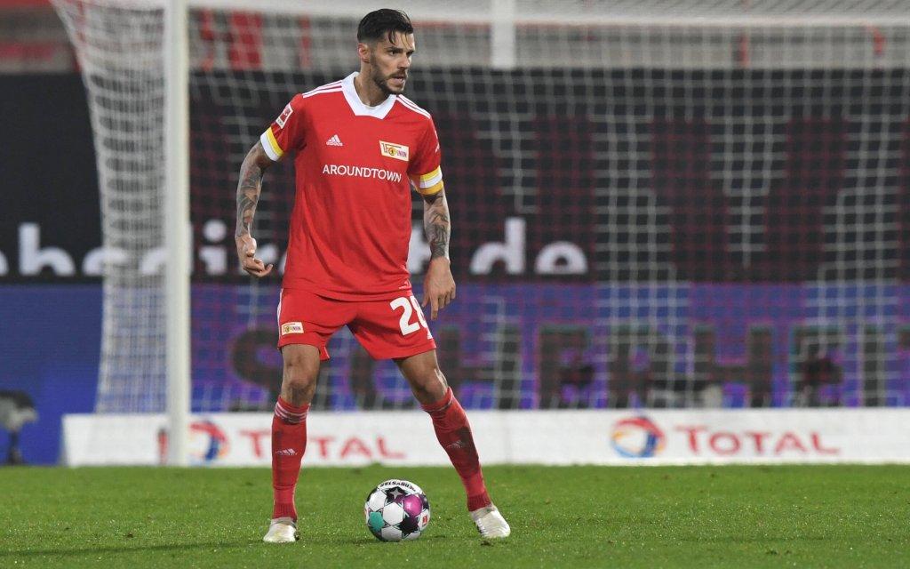 Fussball, Herren, Saison 2020/2021, 1. Bundesliga 11. Spieltag, 1. FC Union Berlin - FC Bayern München 1:1, Christopher Trimmel 1. FC Union, 12.12. 2020