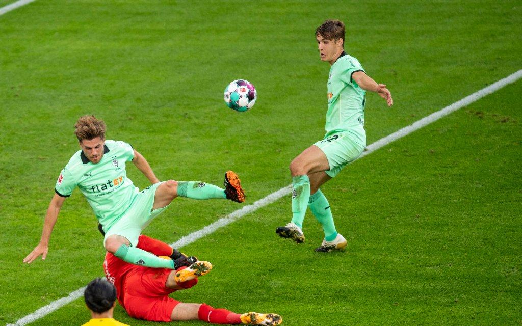 Fußball: 1. Bundesliga, Saison 2020/2021, 1. Spieltag, Borussia Dortmund - Borussia Mönchengladbach am 19.09.2020 im Signal Iduna Park in Dortmund Nordrhein-Westfalen.