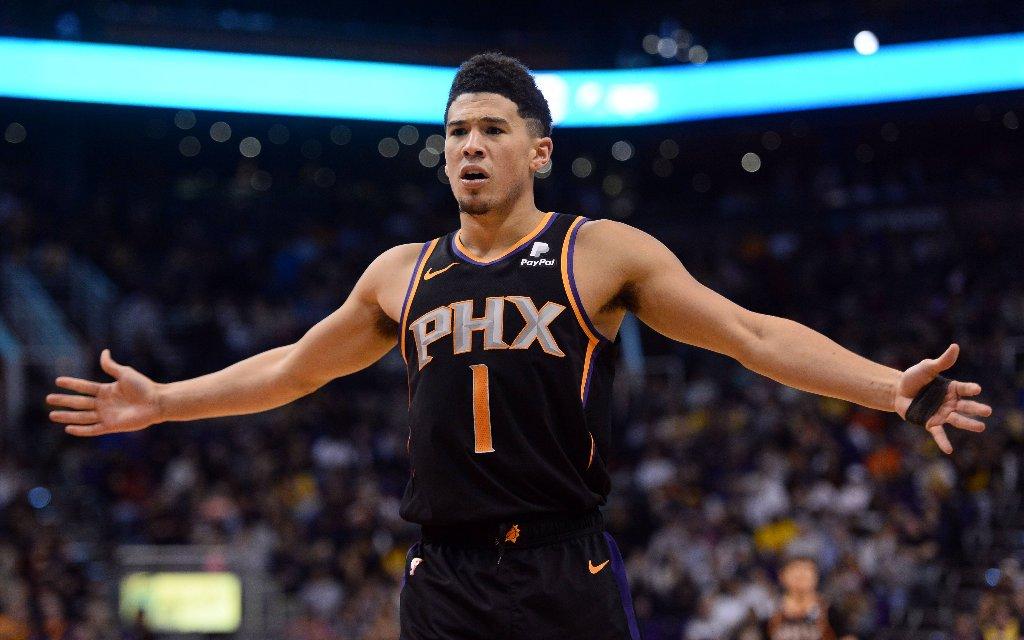Können Superstar Booker und seine Suns den fünften Sieg in Folge holen?