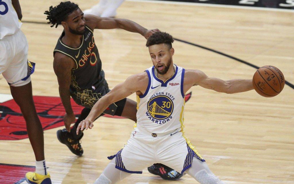 Der Superstar der Warriors, Steph Curry, spielt erneut auf MVP-Niveau