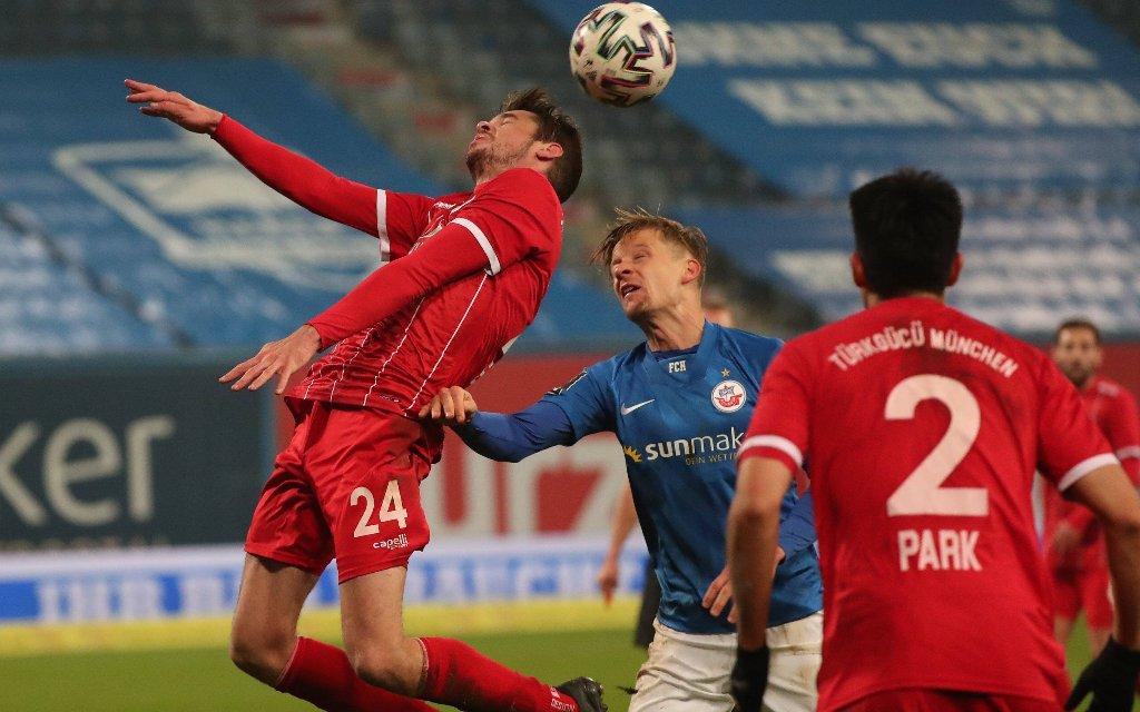 Türkgücü München gegen Hansa Rostock