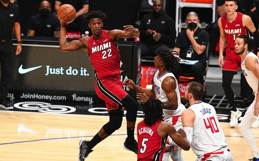 Mit der Rückkehr von Superstar Butler (l.) kam auch der Erfolg zurück zu den Heat